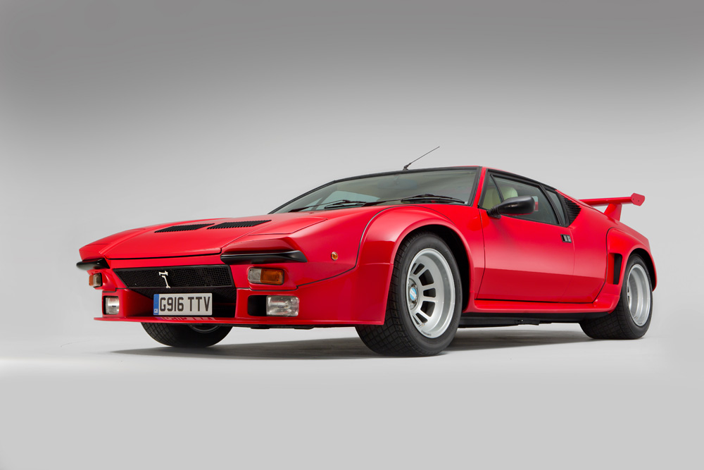 De Tomaso Pantera GT5 for Classic Cars magazine